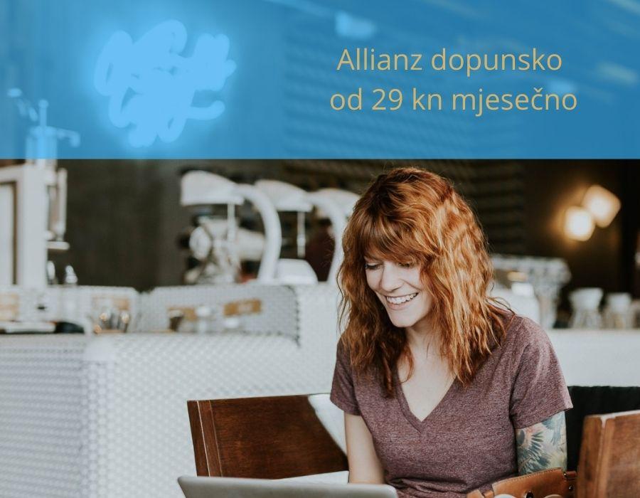 Popusti na dopunsko zdravsveno Allianz do 40%