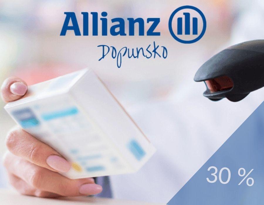 Popust na ugovaranje dopunskog zdravstvenog Allianz, do 30.11.2021